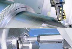 CNC-Fräsen, CNC-Bohren, CNC-Schleifen, Verzahnen